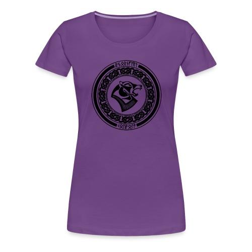 BjornfellRisingBlack - Naisten premium t-paita