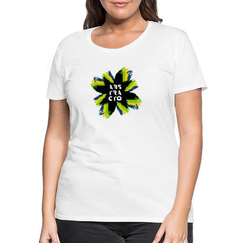 Arte Abstracto - Camiseta premium mujer