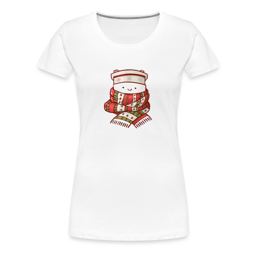 Christmas coffee cup - Women's Premium T-Shirt