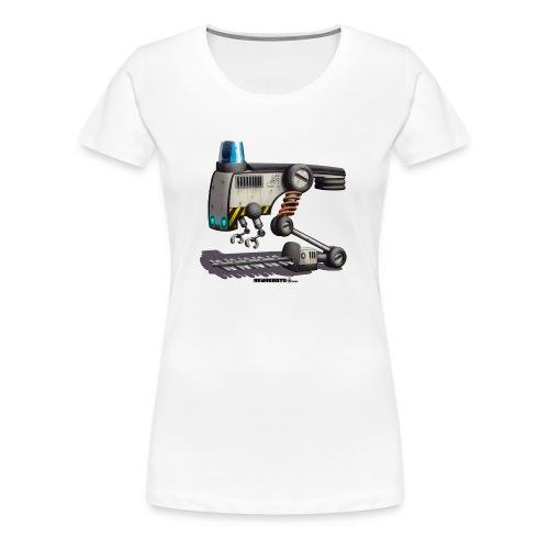 The F.L.O.W.E.R. Robot! - Dame premium T-shirt