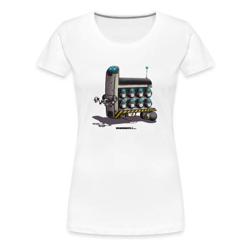 The S.T.A.F.F. Robot! - Dame premium T-shirt