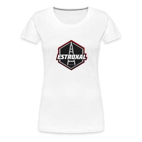 Estroxal - Logo - Naisten premium t-paita
