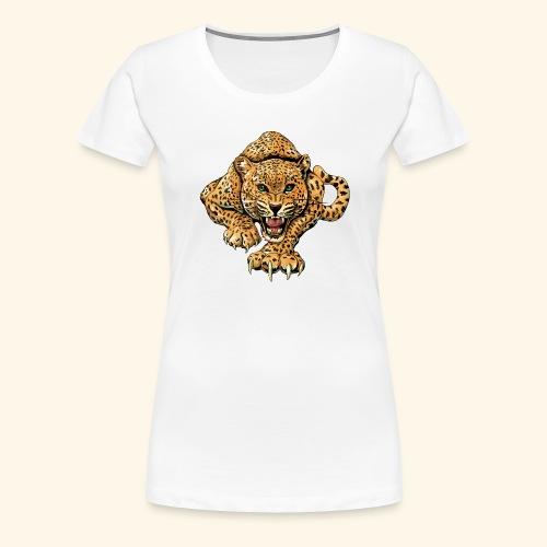 leopardillo - Camiseta premium mujer