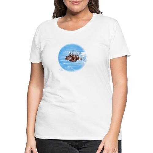 Poisson zèbre - T-shirt Premium Femme