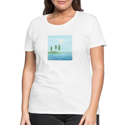 zomertijd - T-shirt Premium Femme