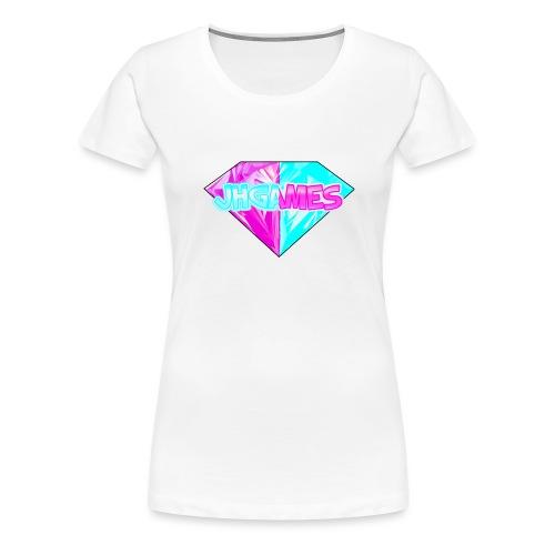 JHGAMES Shirt met logo - Vrouwen Premium T-shirt