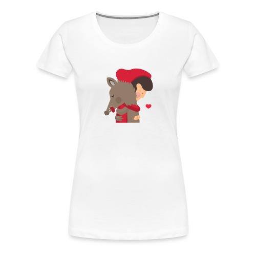 Abbracciccio-02 - Maglietta Premium da donna