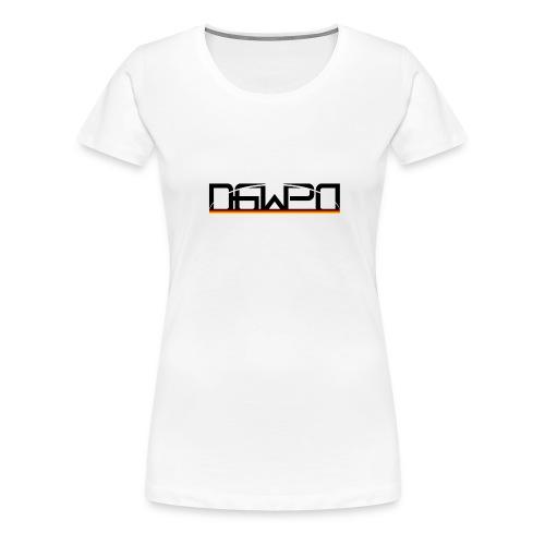 DGWPD Logo 1 - Frauen Premium T-Shirt
