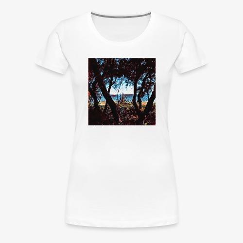 Vista mare dalla pineta - Maglietta Premium da donna