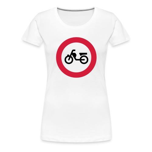 verbodenvoorbrommers - Vrouwen Premium T-shirt