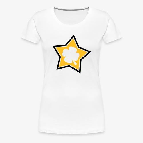 Lucky Star 1 - T-shirt Premium Femme