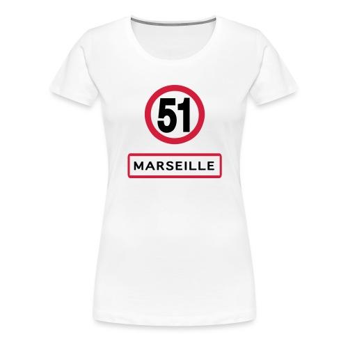 Marseille 51 - T-shirt Premium Femme