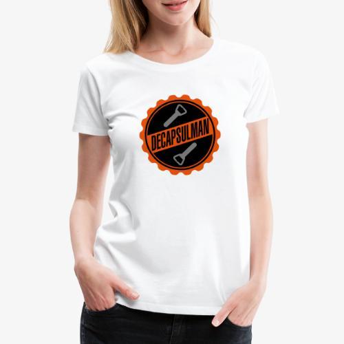 DECAPSULMAN - T-shirt Premium Femme