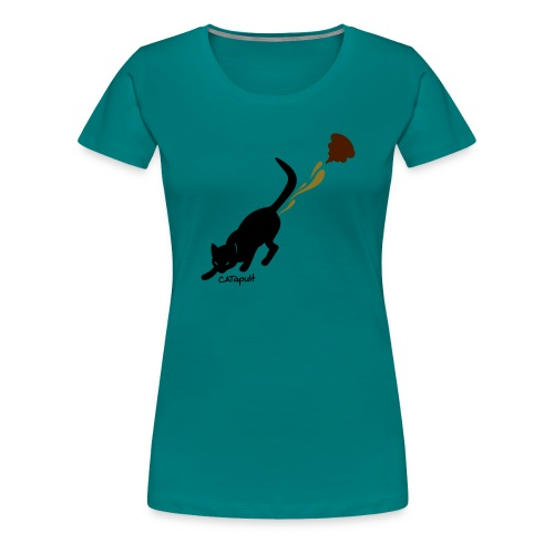 Catapult - Vrouwen Premium T-shirt