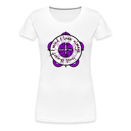 one heart - Women's Premium T-Shirt
