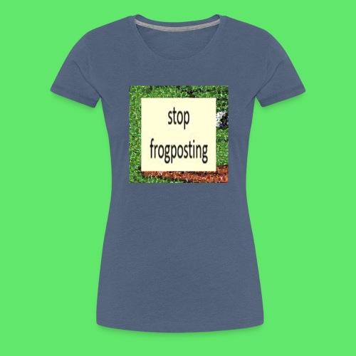 Frogposter - Women's Premium T-Shirt