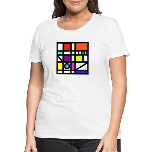 Squares - Women's Premium T-Shirt