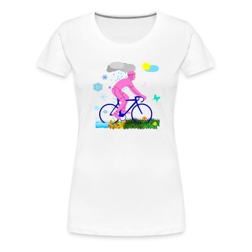 Allwetterfahrer - Frauen Premium T-Shirt