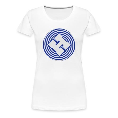 mindhackspacelogo large - Women's Premium T-Shirt