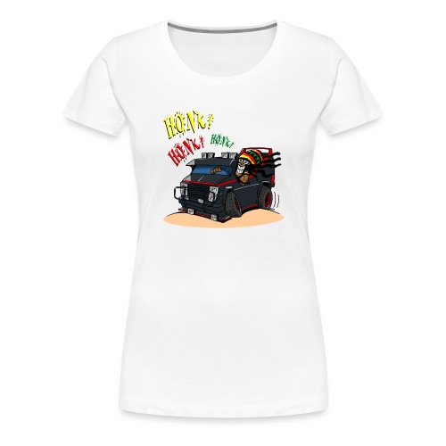 0779 BA RASTA VAN - Vrouwen Premium T-shirt