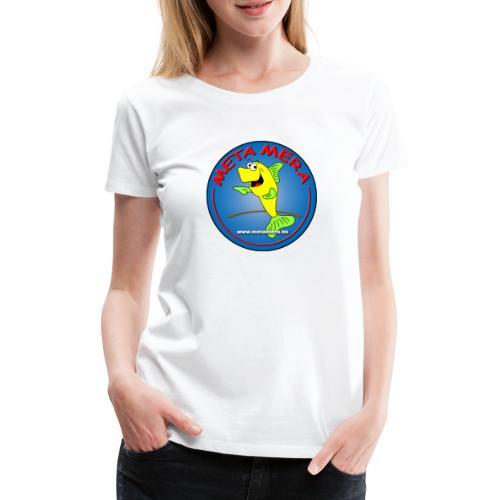 metamera_fish - Premium-T-shirt dam
