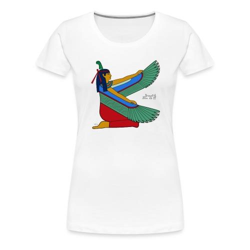Maat - altägyptische Göttin - Frauen Premium T-Shirt