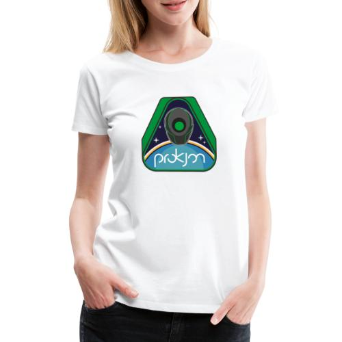 Space Emblem Design - Frauen Premium T-Shirt