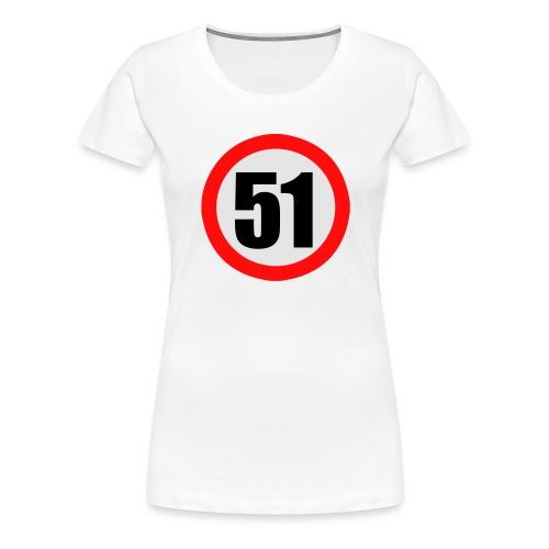 Panneau de limitation 51 - T-shirt Premium Femme