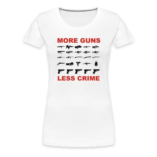 guns - Frauen Premium T-Shirt