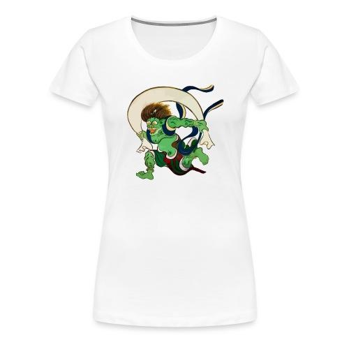 Kaze Kami - Wind Gott - Frauen Premium T-Shirt