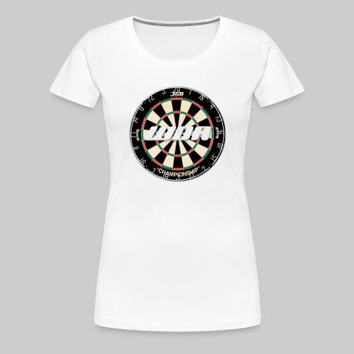 wda dartboard logo - Women's Premium T-Shirt