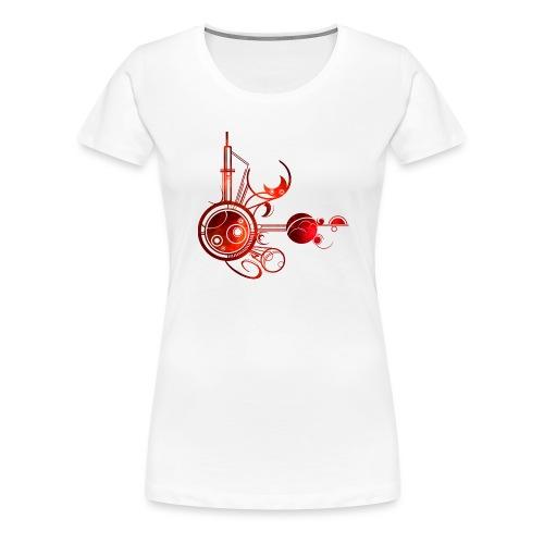 Big Bang - T-shirt Premium Femme