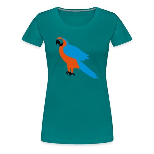 Parrot - Maglietta Premium da donna