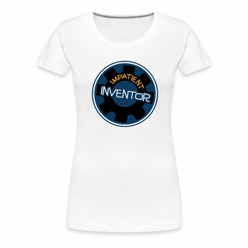 Inventors back pack for all your creative junk - Women's Premium T-Shirt