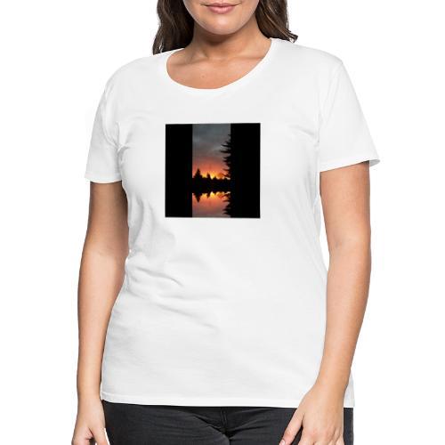 Morgenrotdrama Small - Frauen Premium T-Shirt