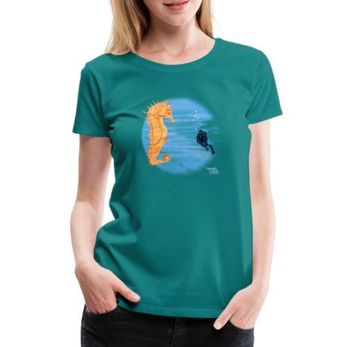 hippocampe - T-shirt Premium Femme