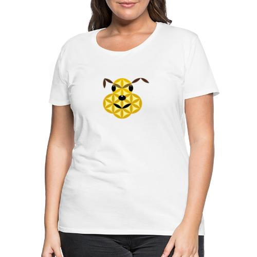 The Dog Of Life - Sacred Animals - Women's Premium T-Shirt
