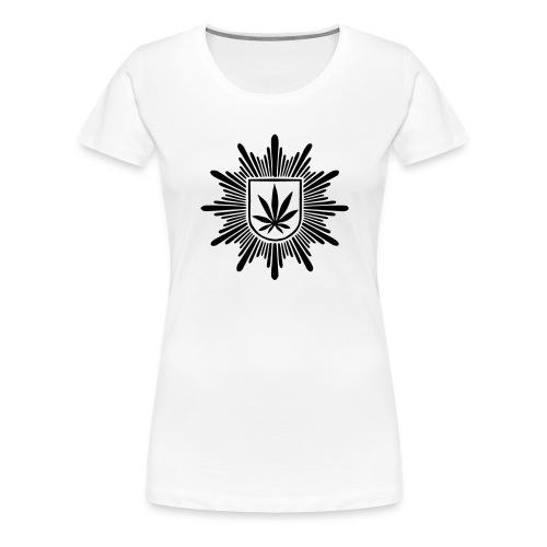 Bundeshanfschutz (pur) - Frauen Premium T-Shirt