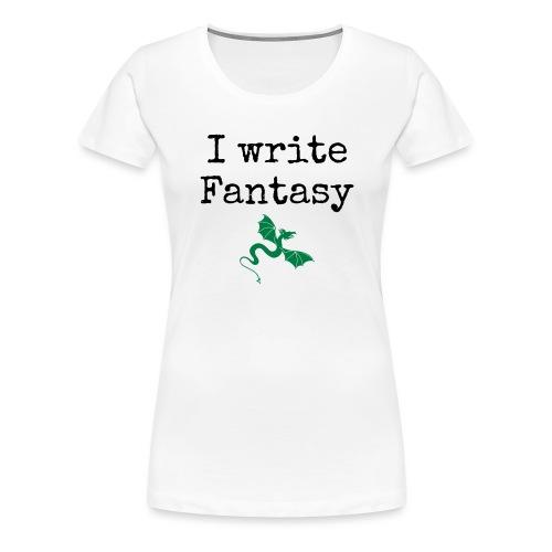 i_write_fantasy - Women's Premium T-Shirt