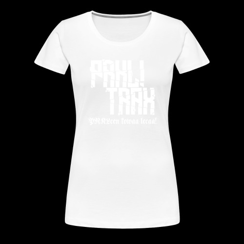 PRKL! Trax black t-shirt - Naisten premium t-paita