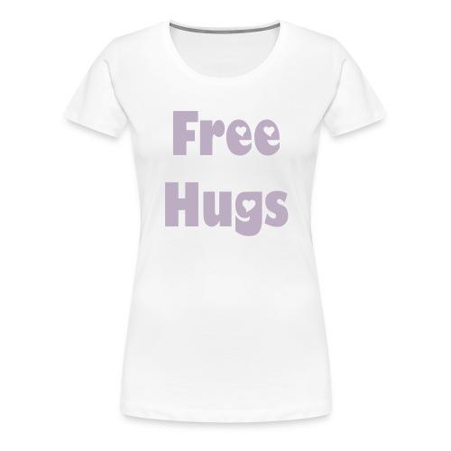 Free Hugs - Frauen Premium T-Shirt