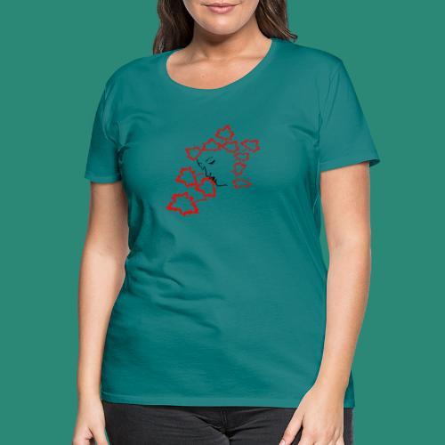 entblätterte Herbstfee - Frauen Premium T-Shirt