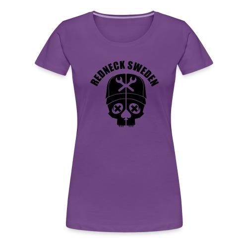 Redneck sweden dam - Premium-T-shirt dam