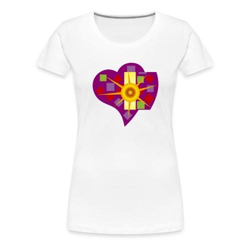 IN_LOVE_CUORE - Camiseta premium mujer