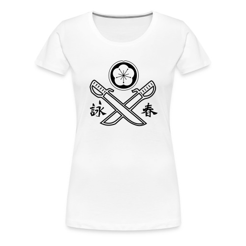 Doppelmesser - Frauen Premium T-Shirt