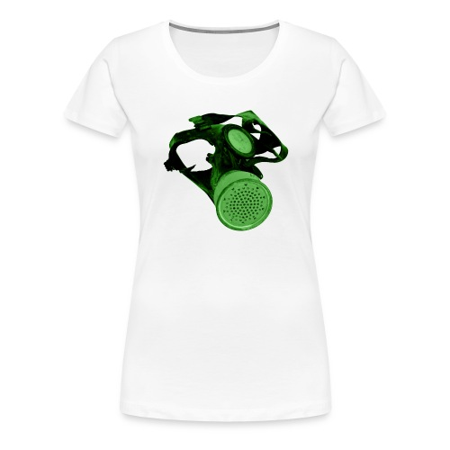 gas shield - Women's Premium T-Shirt