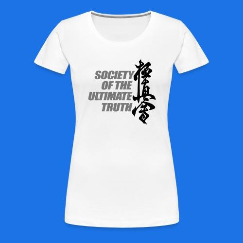 Kyokushin3 - Vrouwen Premium T-shirt