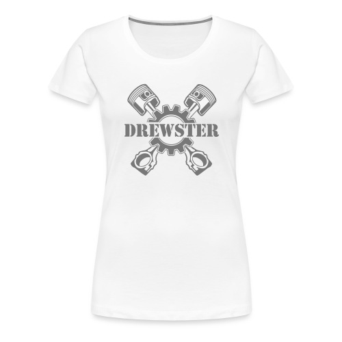 Drewster Emblem - Frauen Premium T-Shirt