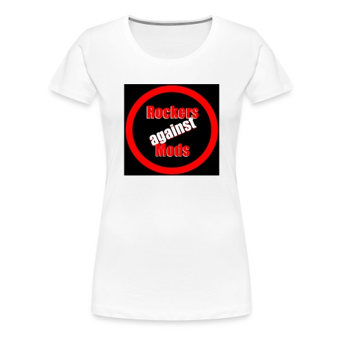 Rockers against Mods - Premium T-skjorte for kvinner
