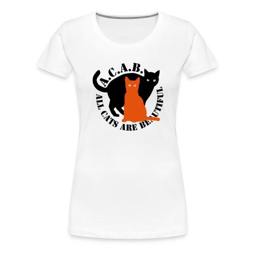 gaticos - Camiseta premium mujer